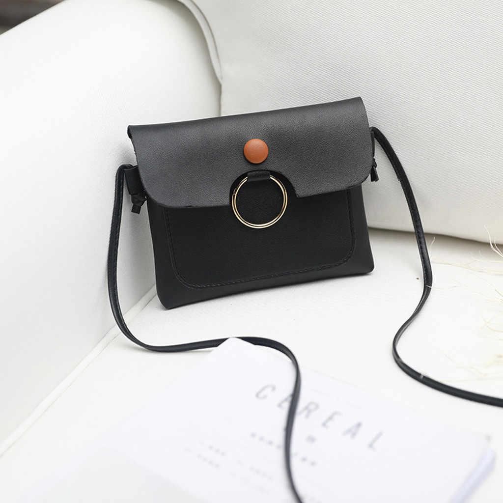 ผู้หญิงแฟชั่นสีทึบไหล่สด Multi - Function Coin กระเป๋าสตางค์ schoudertas dames sac หลัก femme de marque soldes
