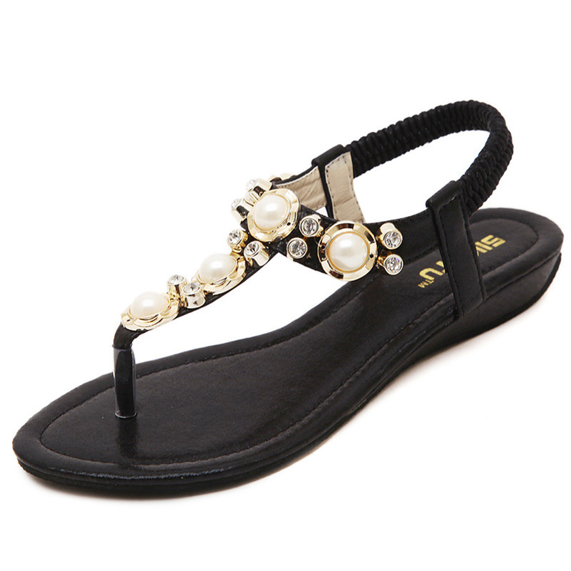 8a785f252b91 Luxury Brand Flower Flat Womans Designer Sandal Ladie Fake Platform Casual  Sandals Women Fashion Wedge Shoes Zapatos Mujer WC106-in Women s Sandals  from ...