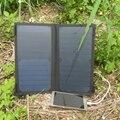 PowerGreen Портативный Резервный Аккумулятор, 14 Вт 2-портовый USB Солнечное Зарядное Устройство Порт Питания, солнечная PowerBank, мини-Панели Солнечных Батарей для Мобильного Телефона