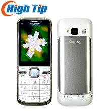 Nokia брендовая оригинальная C5 разблокирована C5-00 мобильного телефона Камера 3.15MP 5MP GPS Bluetooth Восстановленное Бесплатная доставка, гарантия 1 год