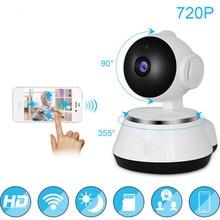 Детский Монитор 720 P WiFi ip-камера HD Беспроводная умная детская камера Аудио Видео Запись наблюдения домашняя камера безопасности