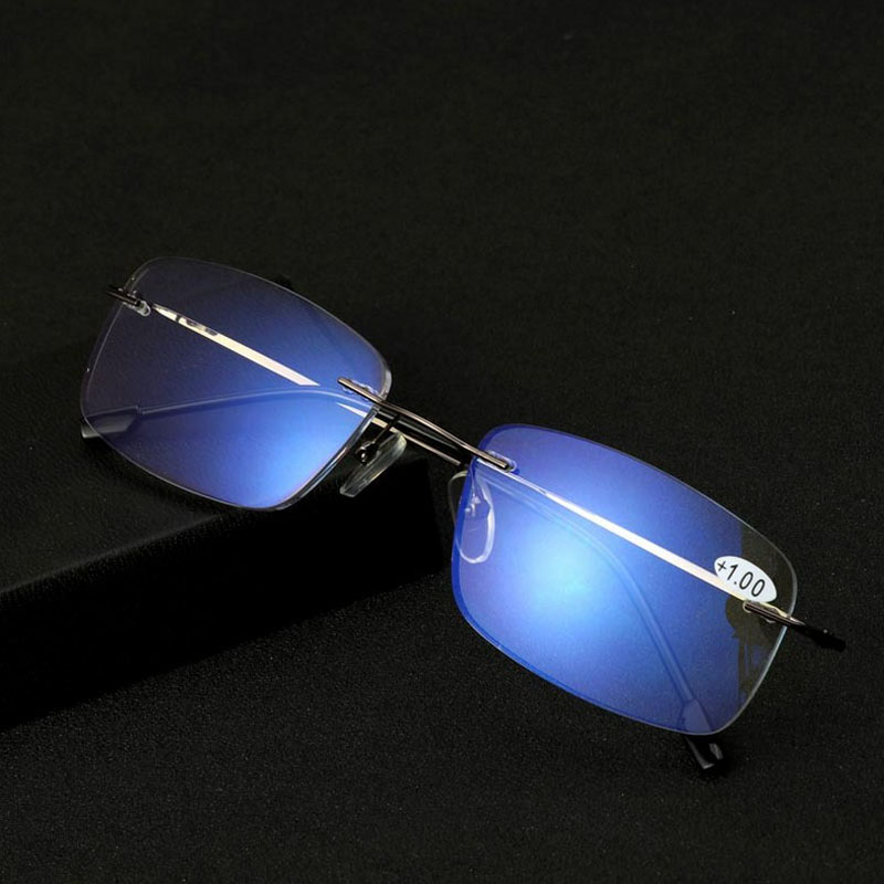 Reading Glasses Zoom Progressive Multifocal Ray-Protection Anti-Blue Women's Near And