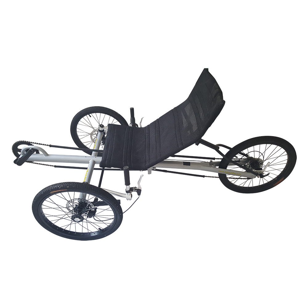 "Folding Three 20"" Wheels  Recumbent Trike For Outdoor(China)"