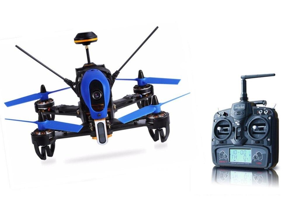 Walkera F210 3D Édition 2.4 GHz 120 Degrés HD Caméra F3 3D D'abattre le Mur Drone De Course RTF Devo7 RC quadrirotor F18852/54