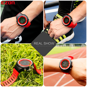 Image 5 - Mens Digital GPS sport watch for Outdoor Running and Fitness 50M Waterproof  Speed Distance pace EZON T031