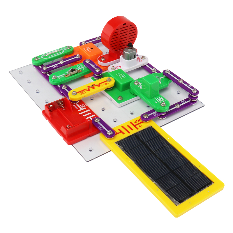 Electronic Enlightenment DIY Blocks Creative  Toys for Children GiftsElectronic Enlightenment DIY Blocks Creative  Toys for Children Gifts
