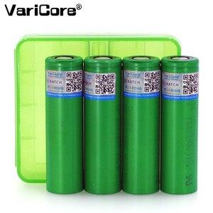 Аккумулятор VariCore VTC6, 4 шт., 3,7 В, 3000 мА/ч, 18650, литий-ионный аккумулятор, 30 А, разряд для Sony US18650VTC6, аккумуляторы + 18650, коробка для хранения батарей