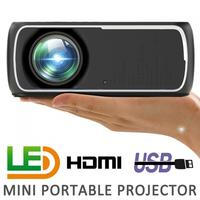 60W 2200 Lumens 800x480P Video Home Cinema LED HD Video Projector Built in Speaker Support 56 100 Inch Screen Projection