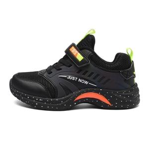 Image 2 - Extérieur doux antidérapant enfants chaussures de course été respirant maille enfants baskets mode décontracté garçons chaussures taille 28 40