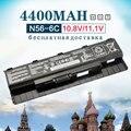 4400mAh Laptop Battery for Asus A31-N56 A32-N56 A33-N56 N46 N46V N46VJ N46VM N46VZ N56 N56D N56DP N56V N56VJ