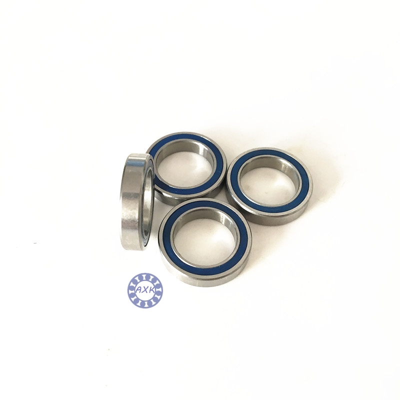 Free Shipping   1/2x3/4 x5/32  blue Rubber Bearings  ABEC-3  R1212 2RS Motor bearing Model bearing 12.7x19.05x3.969MM коньки onlitop abec 5 35 38 blue 869370 защита