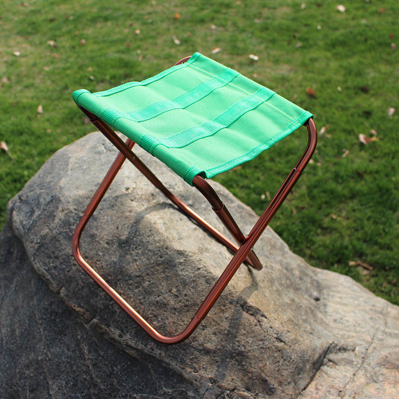 Folding Stool Chair Seat Fishing Art Mini Outdoor Waterproof  Hiking Camping Portable _Wk