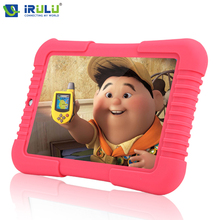 IRulu Y3 7 »Android 5.1 IPS 1280*800 babypad Quad Core Dual Cam Tablette pc 1 г + 16 г Wi-Fi Bluetooth силиконовый чехол подарок для детей