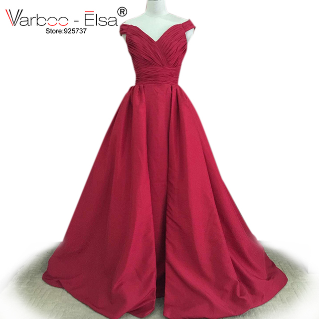 d6e261ee1d1d1 VARBOO_ELSA Hot sell burgundy quinceanera dresses arabic prom dress  sequined homecoming dresses plus size prom gown real photo
