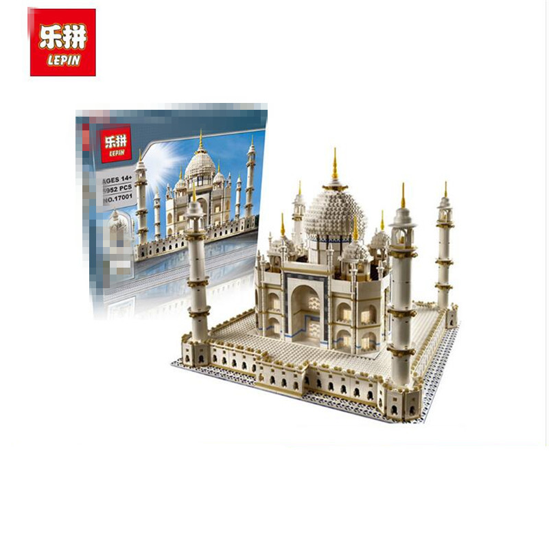 LEPIN 17001 City Street Creator The Tai Mahal Model Building Kits Assembling Brick Toys Compatible 10189 lepin17001 city street tai mahal model building blocks kids brick toys children christmas gift compatible 10189 educational toys