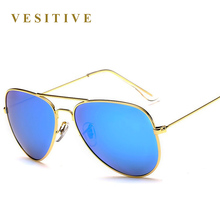 Classic design Fashion Polarized Sunglasses Men / Women Colorful Reflective Coating Lens Eyewear Accessories Sun Glasses 3026