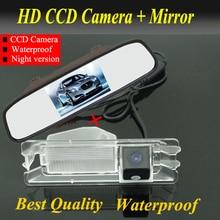 4.3 inch Car monitor mirror + car rear view parking camera for Nissan March Renault logan Sandero Car backup reverse camera