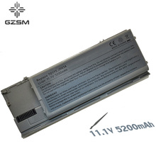 5200mAh Laptop Battery For Dell Latitude D620 D630 D631 M2300 KD491 KD492 KD494 KD495 NT379 PC764 PC765 PD685 RD300 TC030 akku hsw 7800mah laptop battery for dell latitude d620 d630 d631 m2300 kd491 kd492 kd494 kd495 nt379 pc764 pc765 pd685 rd300 tc030