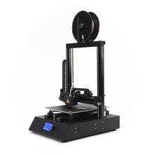 2019 ORTUR FDM 3d принтер комплект легко сборка 3d принтер стальной корпус + линейный направляющий рельс Настольный Impresora 3d с 10 м PLA нити