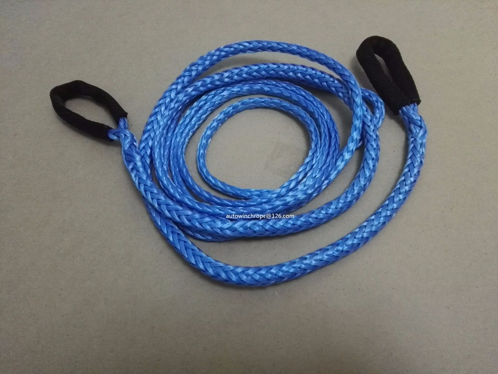 """Synthetic Rope 50ft Synthetic Winch Rope Extension,10mm ATV Winch Cable 3//8/"""""""