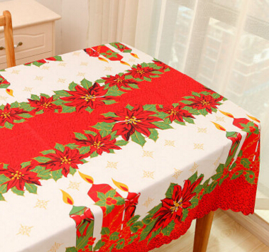 European table cloth restaurant restaurant coffee table long square Christmas day cloth tablecloth