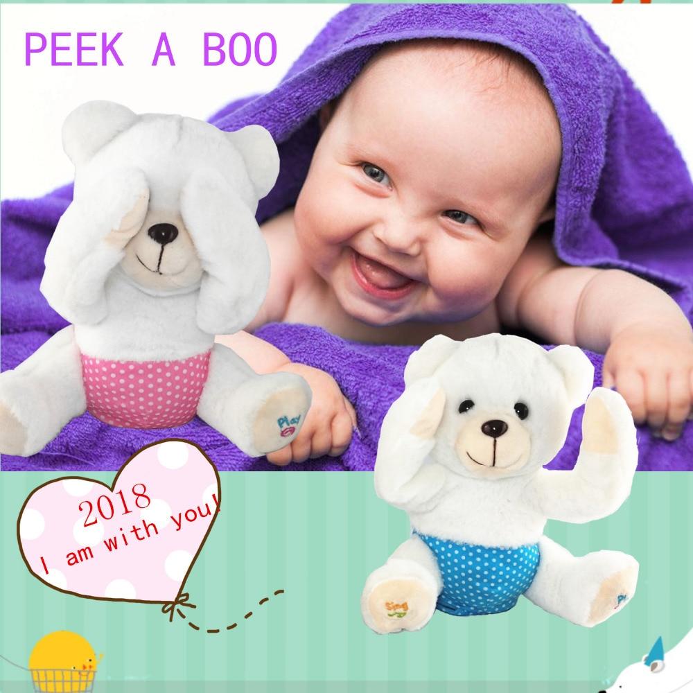 Новый PEEKABOO плюшевый мишка плюшевые - Мягкие и плюшевые игрушки