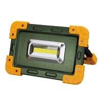 Safurance Outdoor 30W LED Light Work Lamp Flood Light USB Rechargeable Roadway Safety Traffic Light