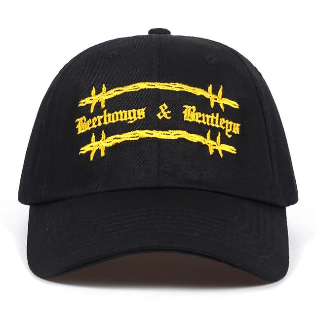 4dd79a3b736 High Quality Cotton Post Malone Beerbong   Bentleys dad Hat Adjustable Baseball  Cap Unisex Couple Cap Fashion Snapback Caps