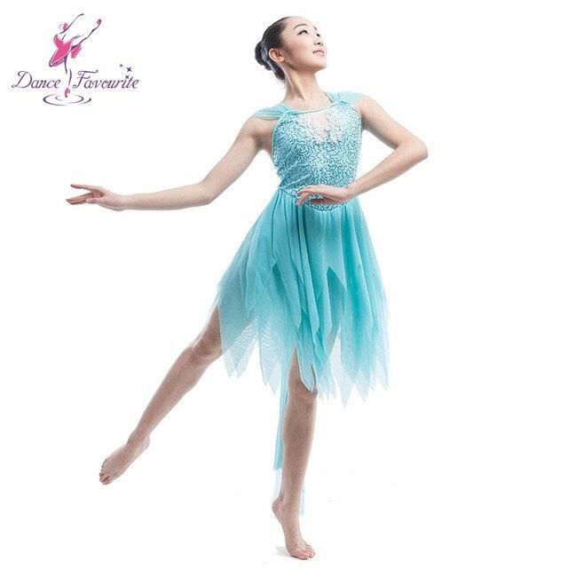 Blue Sequin Spandex Dance Bodice Dance Wear For Girl Women Stage  Performance Skirt 989ade35af14
