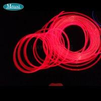 Maykit свет бассейн Цвет изменить 80 Вт Cree Led Драйвер Ip68 12 мм внешний диаметр. Импорт Сторона нескольких строка волоконно оптический хвост