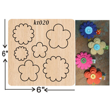 Hand-assembled flowers cutting dies 2019 new die cut &wooden Suitable  for common machines on the market