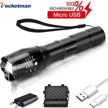 USB Flashlight 6000 Lumens…