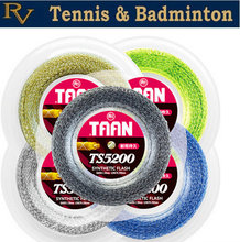 Free Shipping - Authentic Brand New TAAN 5200 Synthetic Flash Tennis Racket String 200 Meters Reel Tennis Strings
