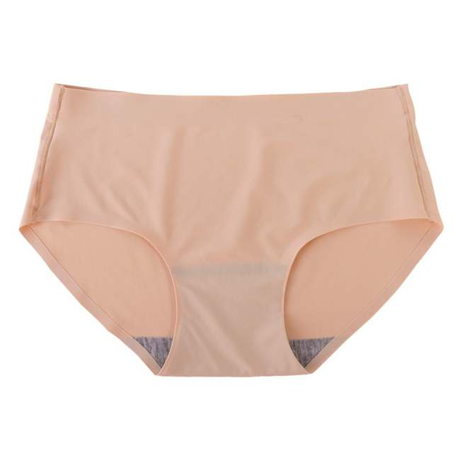 Womens Sexy Seamless Plain Underwear Briefs Lingerie Panties Knickers Ropa  Interior Mujer  S4 342ce943c