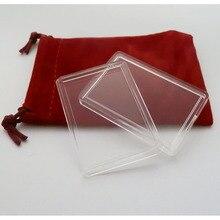 1OZ BAR/BULLION PLASTIC BOX CLEAR PLATIC BOX, 1PCS/LOT Hard Plastic Airtite Cases for 1 oz Bullion Bars Silver Gold