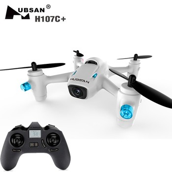 New Arrival Hubsan X4 H107C+ Plus (Upgrade version X4 H107C) Mini Drone with Camera HD 720P RC Quadcopter UFO RTF Toy Dron Gift