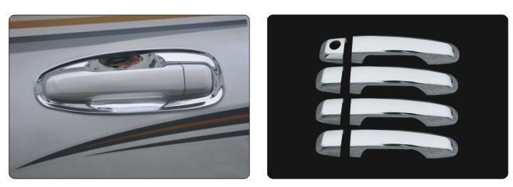 Hot ABS Chrome poignée de porte tasse bol couvercle garniture placage jante Kit pour Prado FJ150 [QP189]