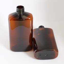 40 шт. 500CC пластик контейнер для масок большой уход за кожей лица очищающий крем Янтарный многоразового бутылки дома повторное использование
