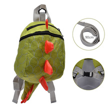 Dinosaur Baby Safety Harness Backpack Toddler Anti-lost Bag Children extremely durable sturdy and comfortable School bag walker super cute bear toddler anti lost backpack harness leash bag walking baby leashes bag toddler walker safety harness bag