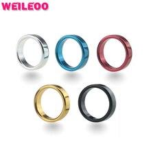 Плоский задержки кольцо крана Алюминиевого сплава кольцо пениса cockring бал носилки взрослых секс-игрушки для мужчин секс-игрушки для семейных пар