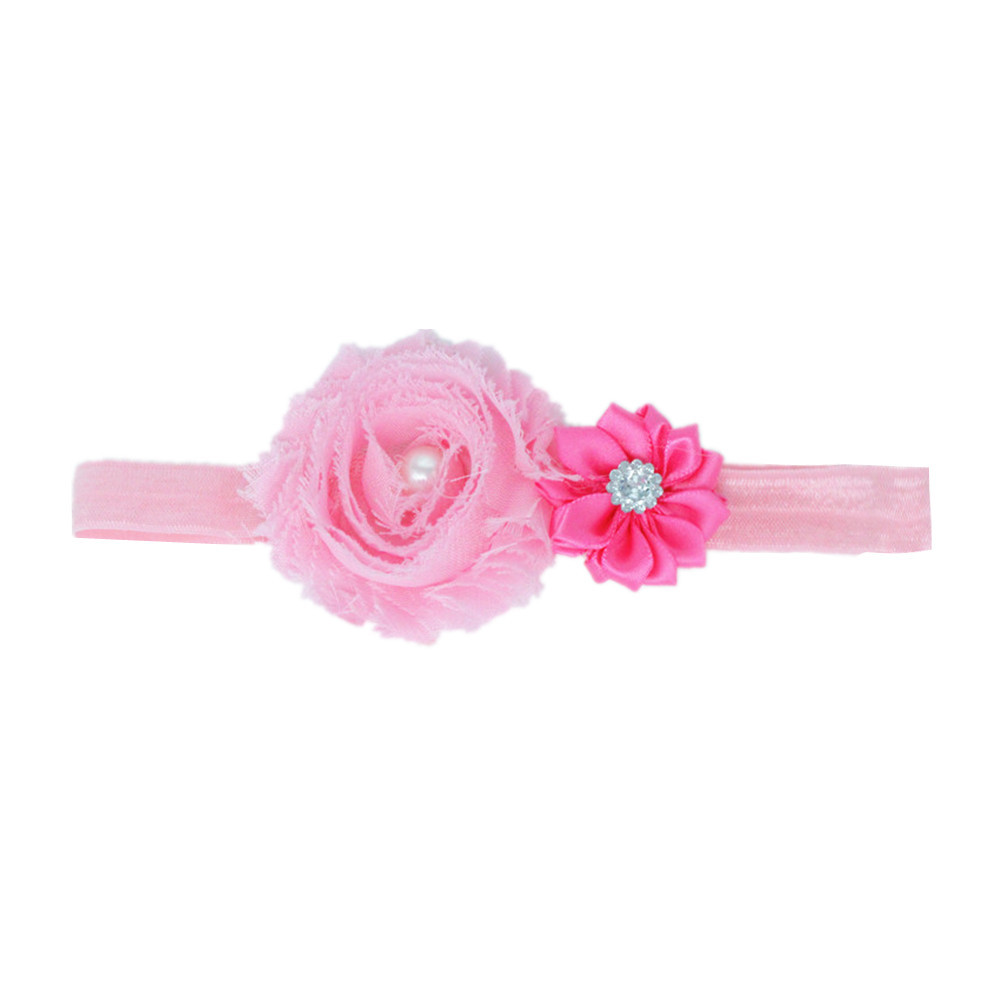 Kids Girl Baby Toddler Infant Flower Headband Hair Bow Band Hair Accessories Baby Girl Floral Elastic Hairband