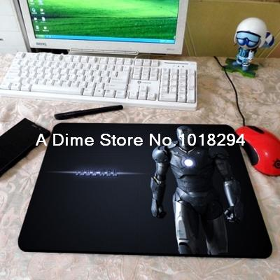 Iron Man mouse pad Personality mousepad laptop mouse pad 2016 new notbook computer gaming mouse pad gamer play mats free ship