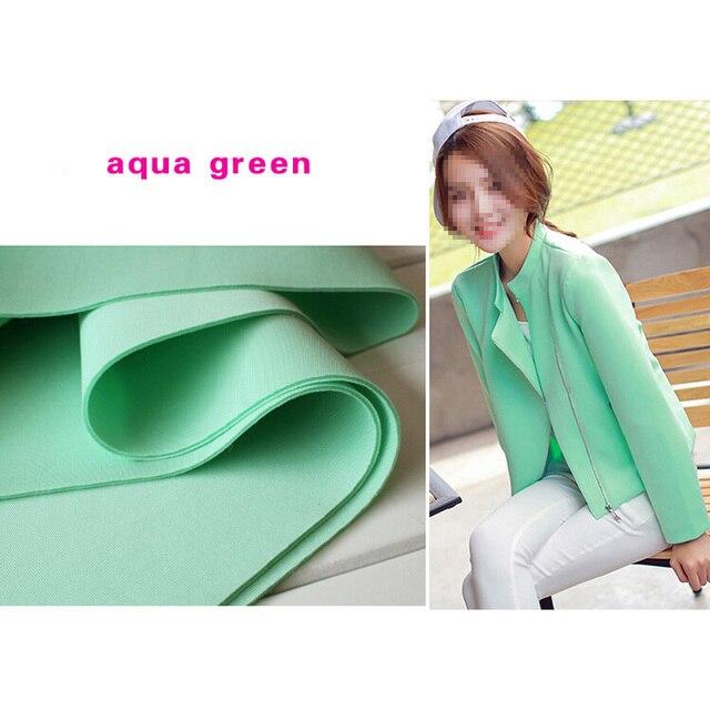 Aqua Grun Neopren Stoff Grosshandel Spandex Stretch Ausgezeichnete