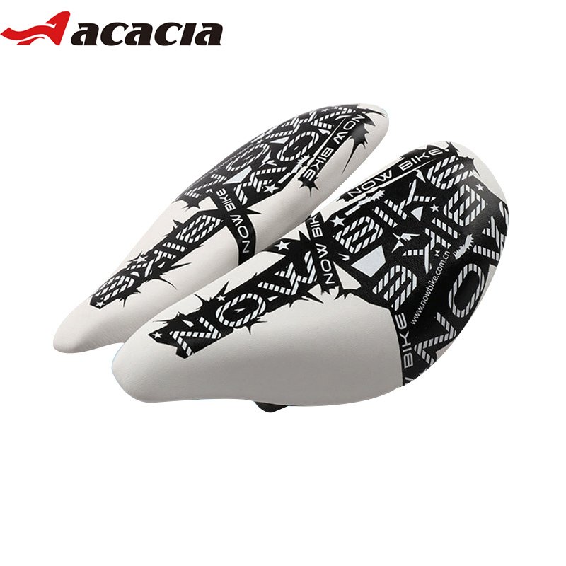 ACACIA NEW Cycling Saddle Breathable Adjustable MTB Mountain Road Bike Noseless Seat Mat High Resilient Soft Bicycle Saddle велосипедная корзина acacia mtb 5 5 bl bag acacia