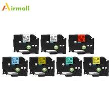 Airmall совместимый для Brother P сенсорная этикетка лента TZe-231 TZ131 7 цветов Brother P-touch 12 мм Принтер этикеток Ptouch этикеток принтеров