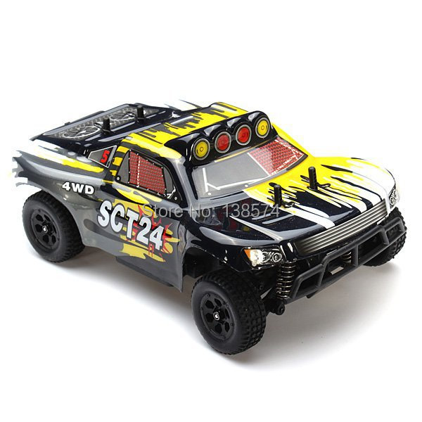 Christmas Gifts HSP 1/24 Scale Electric Power Short Truck SCT24 94247 with 2.4G Radio Control RC Cars Remote Control Toys 82910 ricambi x hsp 1 16 282072 alum body post hold himoto 1 16 scale models upgrade parts rc remote control car accessories