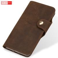 Retro Genuine Leather phone case For xiaomi redmi note 5 Mi 4 Mi 5C Redmi 4 Note 3 Mi 8 High end Silica gel protective case