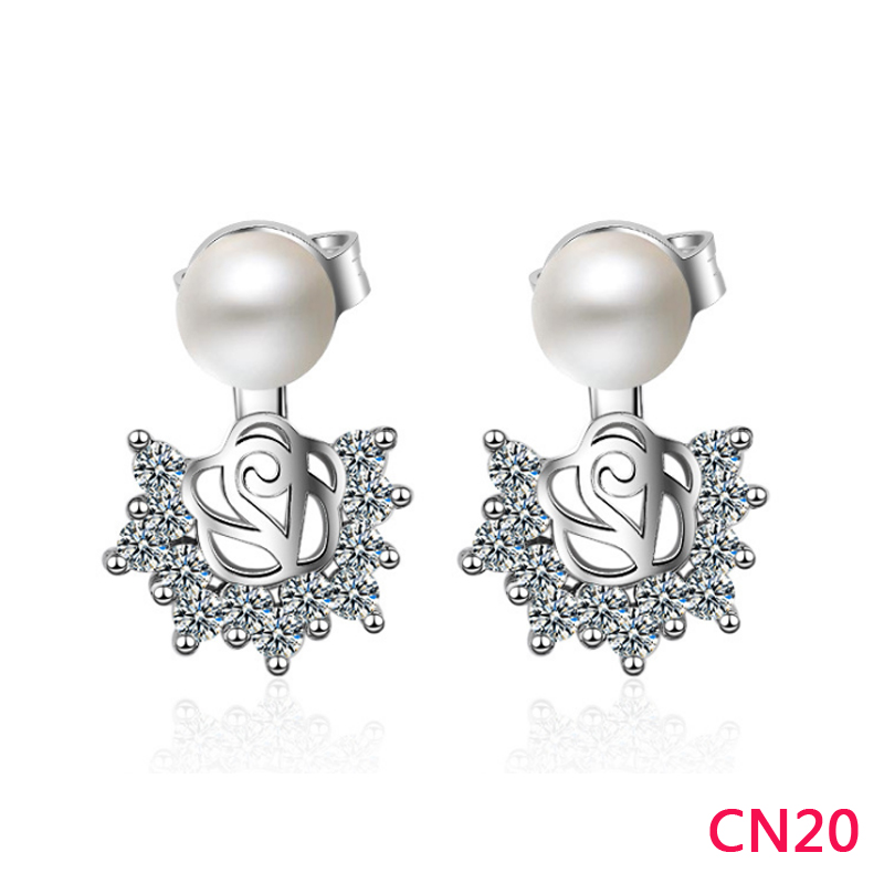 CN20 Hot sale fashion Earring for woman gold/silver/rose color to choose