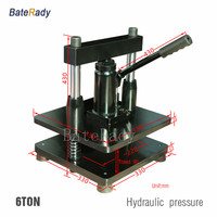 HY 6T Hydraulic Manual press leather cutting machine,BateRady photo paper,PVC/EVA sheet cutter,leather Die cutting machine
