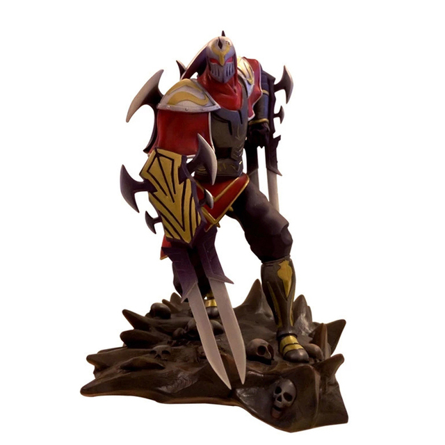 LOL League of Legends figure Action Game ZED Character Model Toy action 3D Game Heros anime party Gift